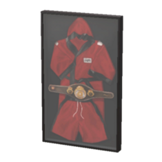 Preserved Boxing Robe