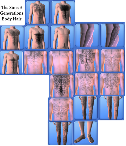 File:Generations-Body hair-All.png