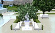 Reowned Philantropist Legacy Statue