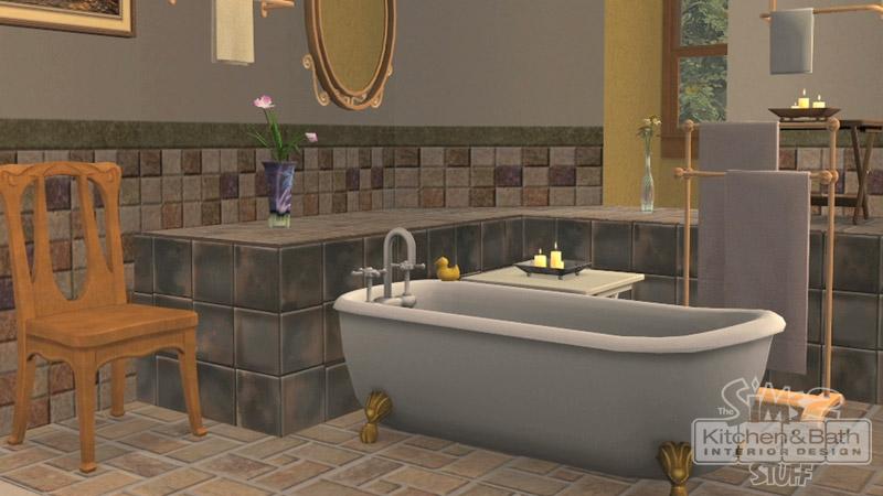 Image cuisine et salle de bain design les sims for Architecture cuisine et bains