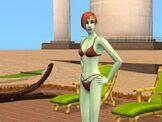 Chloe Singles bathing suit