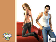 Sims 2 unused couple hair