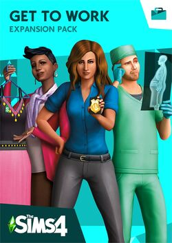 The Sims 4 Get to Work Cover