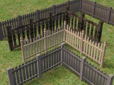 Sims 2 Fences