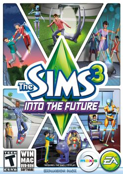 The Sims 3 Into The Future Cover