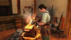 Blacksmith At The Forge2