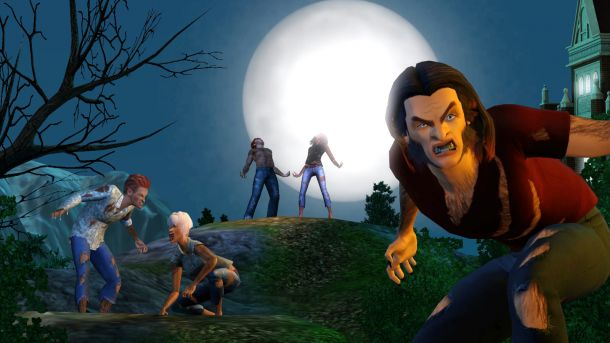 Image - Werewolf Full Moon.jpg | The Sims Wiki | FANDOM ...
