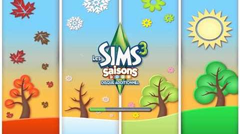 The Sims 3 Seasons Loading Screen (French)