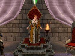 Female Monarch Throne