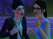 Ana and Lily gossiping