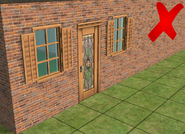 Ts2 custom apartment gg - incorrect apartment door 2