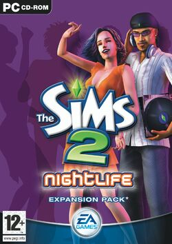 The Sims 2 Nightlife Cover