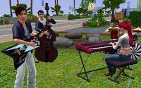 Chris and his band
