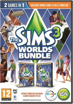 The Sims 3 Worlds Bundle Cover