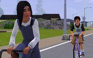 Tamera and Chris ride