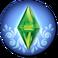Logo cap create a pattern icon