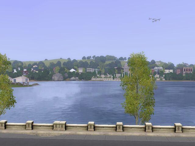 File:Twinbrook lake view.jpg