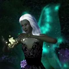 Фея использует магию