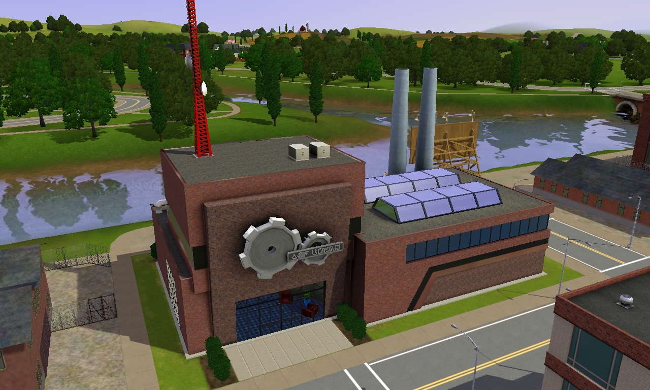 Science Building Sims  Custom
