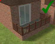 Ts2 custom apartment gg - correct foundation placement