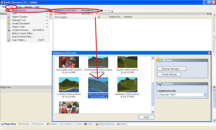 Ts2 extracting sims tutorial 1