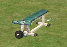 Ts2 exerto leg extension exercise machine