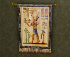 King Nayr tapestry