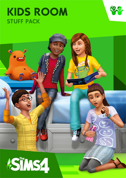 The Sims 4 Kids Room Stuff Coverart
