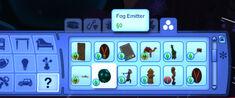Fog Emitter in Buy mode