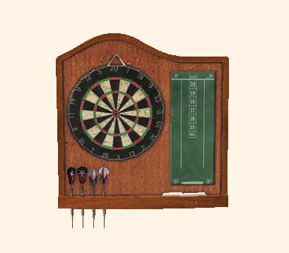 File:Burled Wood Dartboard.png