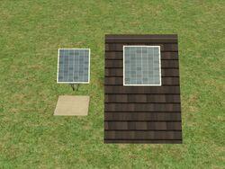 Solar panel 1x1