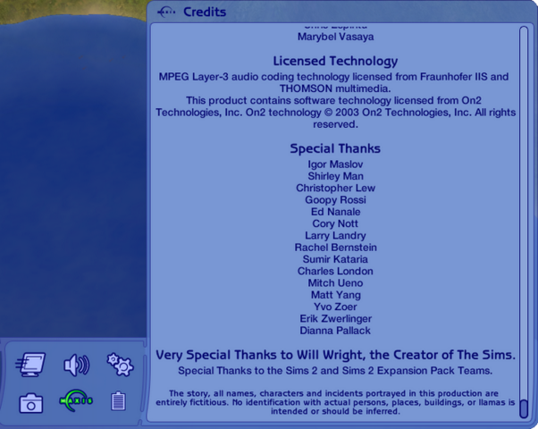 File:The Sims Castaway Stories End of the Credits.png