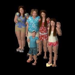 Wahine family