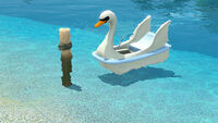 """Slade the Indomitable"" Paddleboat"