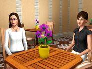 Mid age Leona and Jean