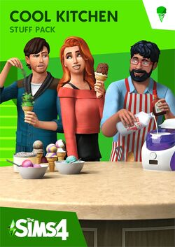 The Sims 4 Cool Kitchen Stuff Cover