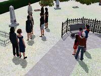 John's funeral