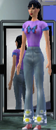 Nikki Yang Full Body (The Sims console clearer)