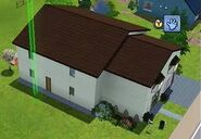 The Sims 3 - Marvin Madison's house - Side