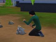 Sims 4 digging
