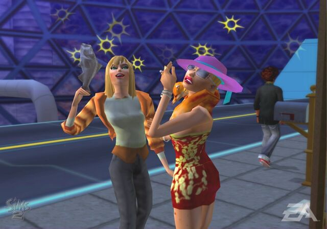 File:Blonde woman and Buttercu.jpg