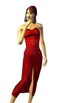 Bella Goth The Sims Bustin Out