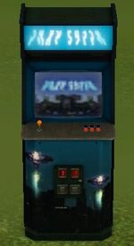 Fire in the Skies Arcade Machine