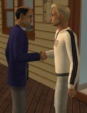 Greeting the Headmaster