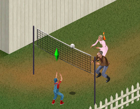 File:TS1 Sims playing volleyball.png