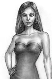 Portrait de Sonia Gothik (Les Sims 3 Ambitions)