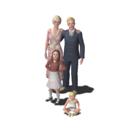 Capp family (The Sims 3)