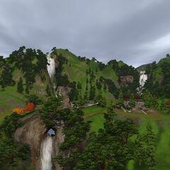 Водопады в Шанг-Симла