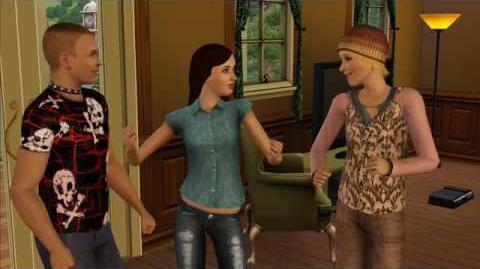 The Sims 3 Meet Marcela, master thief