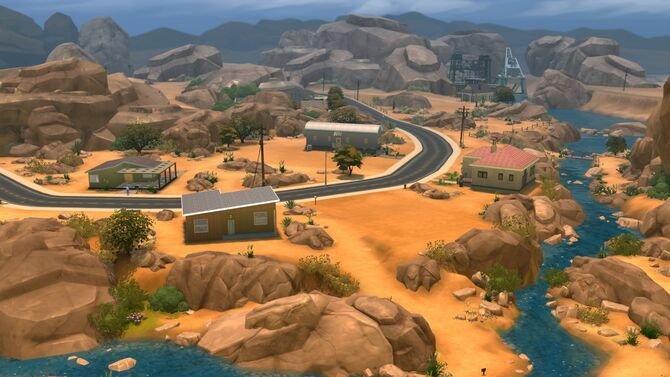Community Build Oasis Springs Sims